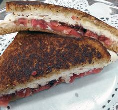FRIED APPLE AND CHICKEN GRILLED CHEESE SANDWICH - If you want a quick lunch, but something different than the traditional grilled cheese, this sandwich is just what you are looking for. The perfect combination of sweet apples and savory salty cheese gives your taste buds a boost without a whole lot of work. Find all the ingredients at VALLEY NATURAL FOODS. www.valleynaturalfoods.com
