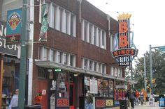 One of the country's most historic streets - Memphis' Beale Street - is also one of the country's best streets on which to bar-hop. Home to a mash-up of clubs, bars, and live music venues, Beale is known as the home of the blues; it was on this street that W.C. Handy, B.B. King and other blues legends got their start.