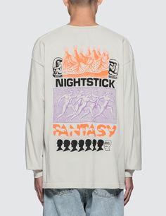 Brain Dead Nightstick Fantasy L/S T-Shirt