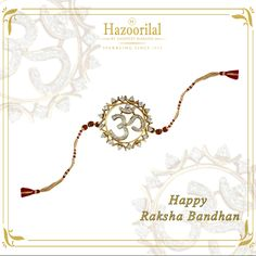#HazoorilalBySandeepNarang wishes all our customers and followers a very Happy Rakshabandhan.  #Hazoorilal #HazoorilalCelebrates #HLBySN #HazoorilalJewellersGK #DlfEmporio #ItcMaurya