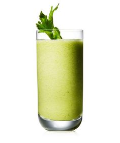 Celery, Cucumber, and Pineapple Smoothie | Get the recipe for Celery, Cucumber, and Pineapple Smoothie.