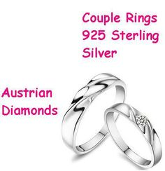 Free Shipping Wholesale Wedding Ring 925 Sterling Silver Couple Rings 18K Platinum Price For Men on AliExpress.com. $2.89