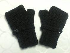 Crochet fingerless gloves I made ;)