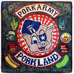 And I finally filled up the last two spots on the back of my jacket with our two hand patches! #porkarmy #patchesinaction #middlefinger #thehorns #wizardsmoke #legalizefreedom #acapulcogoldberg #denimdemon #girlgang #allamerican #dillwithit #porkland #por   Flickr - Photo Sharing!