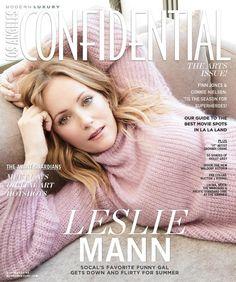 Leslie Mann for Los Angeles Confidential - Summer 2017