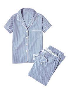 Oxford Stripe Pajamas