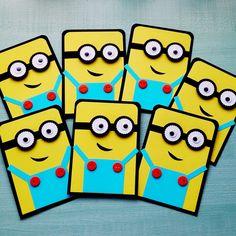 Minion Invitations Birthday Party Invitations by DidiLandCrafts #minion #minions…