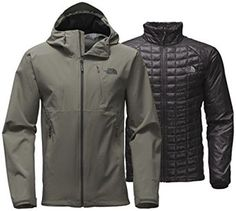 Amazon.com : The North Face Thermoball Triclimate Jacket - Men's Fusebox Grey 2X-Large : Sports & Outdoors