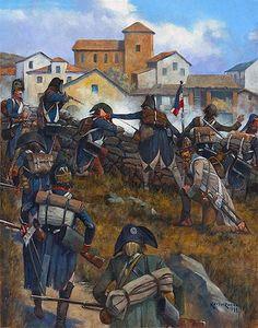Battle of San Michelle - Vicoforte, April 1796