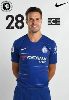 28-CESAR AZPILICUETA SPAIN🇪🇸 Chelsea Football, Football Boys, Chelsea Fc Players, Clubbing Outfits, Europa League, Fa Cup, Uefa Champions League, Clothing Items, Blue Flag
