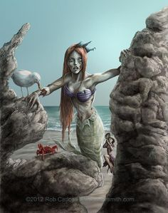 Mermaid Zombie