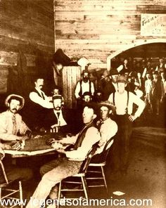 Poker in the Old West