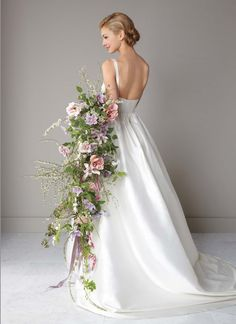 Cascading Bouquets Bridal Musings