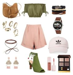 Untitled #72 by tttthao on Polyvore featuring polyvore, fashion, style, Finders Keepers, Lucky Brand, Coach, Oscar de la Renta, adidas, Tom Ford, Puma and clothing