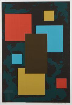 Sam Vanni, 1989, litografia, 63x43 cm, edition TP - Hagelstam A143