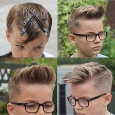 Une chouette idée de coiffure pour un garçon