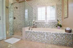WOW. This bathroom remodel is simply stunning.