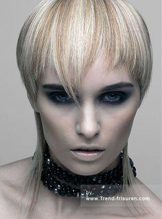TONI & GUY Lange Blonde weiblich Gerade Farbige Moderne Frauen Haarschnitt Frisuren hairstyles