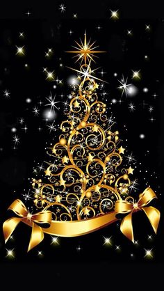 Black and gold Christmas snowflake snow winter Christmas snowflake Christmas Christmas Scenes, Noel Christmas, Christmas Pictures, Christmas Colors, Christmas Greetings, Vintage Christmas, Christmas Decorations, Xmas, Christmas Glitter