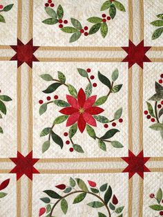 Patchwork Quilting Applique Ideas Ideas - DIY and Crafts Colchas Quilting, Free Motion Quilting, Machine Quilting, Quilting Projects, Quilting Designs, Quilting Ideas, Quilt Block Patterns, Applique Patterns, Applique Quilts