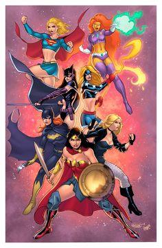 DC Women by Sajad Shah