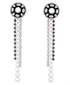Chanel drop #earrings