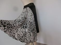 Argentine Tango & Salsa  Skirt Size fits US 2 by COCOsDANCEWEAR