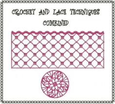 Bernina Embroidery software Class 20: Freestanding Crochet and Lace