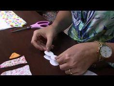 Mulher.com 13/02/2015 Toalha de mao para escola por Priscila Muller Parte 1 - YouTube