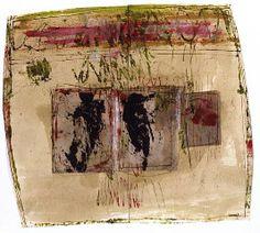Hannelore Baron, Untitled (C83 092) 1983 Mixed Media Collage, via: http://www.artnet.com