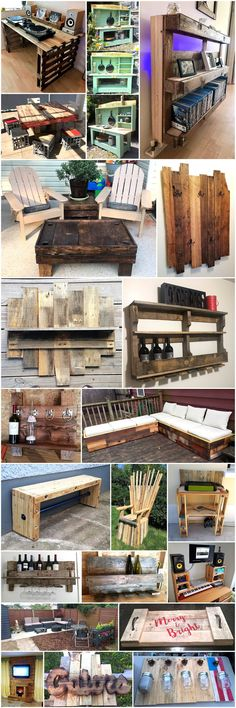 recycling ideas for wooden pallets