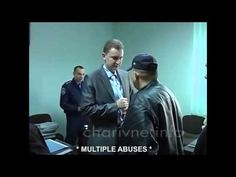 "Right Sector Alexander Muzichko and Dmitry Yarosh - ""West's peacuful, protesters"" in Ukraine"" - http://www.therussophile.org/right-sector-alexander-muzichko-and-dmitry-yarosh-wests-peacuful-protesters-in-ukraine.html/"