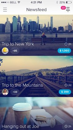 The Ultimate Trends for UI Inspiration: Animated Concepts, Menus, SVG graphics…