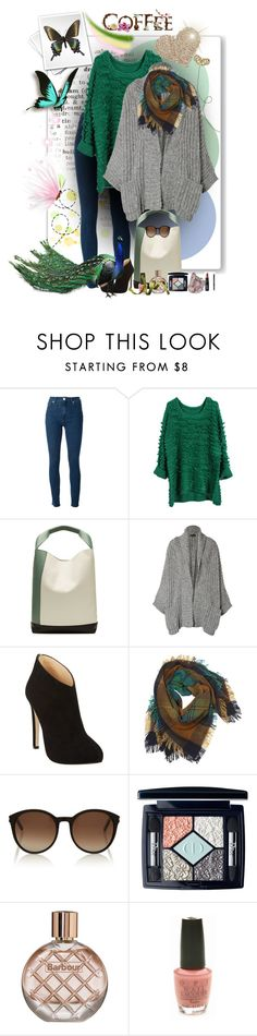 """""""spring 3 2016"""" by ntina36 ❤ liked on Polyvore featuring Love Moschino, Marni, Rachel Zoe, Giuseppe Zanotti, Contileoni, Yves Saint Laurent, Christian Dior, Barbour and OPI"""