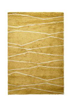 whkmp's own vloerkleed (290x200 cm) (290x200 cm), Oker/crème