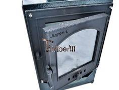 Eksterne rustfrit stål ovn med glas og beskyttelse metal eksklusive model