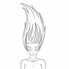 Clean - Hair Animation in Toon Boom Harmony.