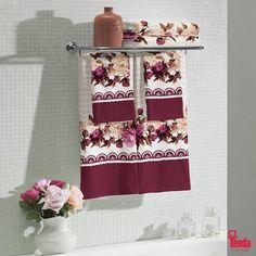;) Uma ótima opção para quem ama vestir sua casa com toalhas fofas, que combinam conforto e beleza. #LojasTenda