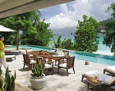Beautiful Four Seasons Resort Seychelles