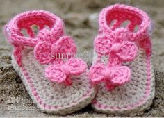 Crochet Baby Sandals-baby Booties-baby Shoes, Baby Booties Crochet Pattern, Orchid Sandals pdf Pattern for Sale /$1.95 | DHgate.com