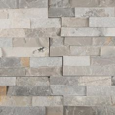Bring a contemporary design to your floor space by selecting this MSI Sunset Silver Splitface Ledger Panel Natural Quartzite Wall Tile. Stone Mosaic Tile, Mosaic Tiles, Wall Tiles, Stone Glue, Rock Fireplaces, Stone Panels, Fireplace Inserts, Stone Cuts, Indoor Air Quality