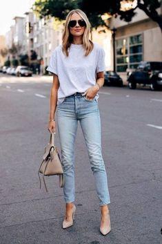 Jeans and heels outfit Jeans and heels outfit Outfit Jeans, Heels Outfits, Casual Outfits, Casual Heels Outfit, Denim Outfits, Lace Outfit, Look Fashion, Fashion Outfits, Jeans Fashion