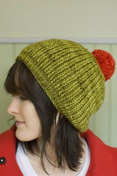Fooler A Faker by Alexandra Tinsley. Worsted Merino yarn. Lettuce and Bergamota colors