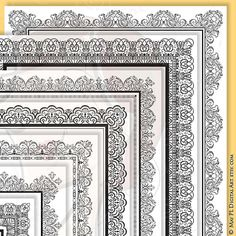 Check out this item in my Etsy shop https://www.etsy.com/au/listing/172455768/8x11-certificate-border-frames-vector