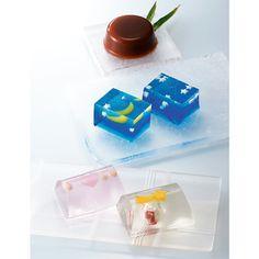 Japanese Sweets, 目にも楽しい夏の涼菓を京御菓子司から。【高島屋限定】京都 涼菓のとりどり