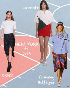 maisaaurora Ss16, Lacoste, Cheer Skirts, Tommy Hilfiger, New York, Fashion, Moda, New York City, Fashion Styles