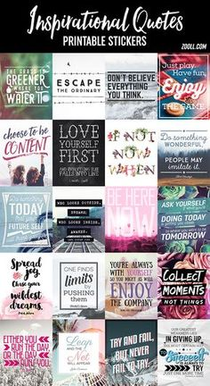 inspirational quotes & We choose the most beautiful Printables: Inspirational Quotes Printable Stickers for you.FREE Printables: Inspirational Quotes Printable Stickers most beautiful quotes ideas To Do Planner, Free Planner, Erin Condren Life Planner, Happy Planner, Planner Ideas, Planner Diy, Weekly Planner, Planner Quotes, Printable Planner Stickers