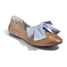 BP. 'Paxton' Oxford Flat ($60) found on Polyvore