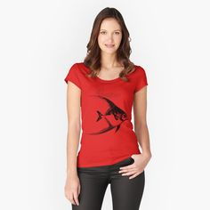 T-shirt échancré 'T-shirts To think is to say no' par DavyCrocklettre Hypebeast, Athleisure, Yoga Style, Oldschool Tattoos, Streetwear, Top Fashion, High Fashion, Fashion Business, Pregnancy Announcement Shirt