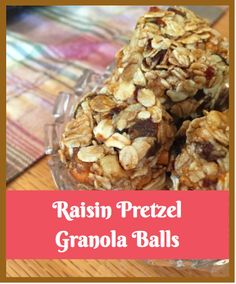 TheLittleRutabaga These granola balls contain healthy ingredients and are a perfect snack for on the go! With just a dab of honey and brown sugar to sweeten them up, these granola bites will be your new favorite snack!